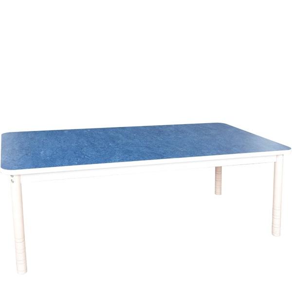 Stół z cichym blatem redukującym hałas