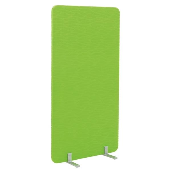 Parawan akustyczny stojący w kolorze zielonym