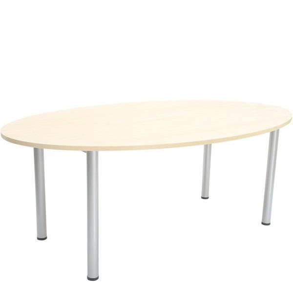 Duży okrągły stół do gabinetów i pomieszczeń administracyjnych