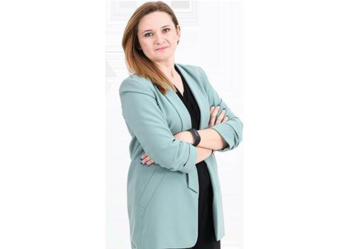 Kamila Dyszkiewicz, megager regionu ds. handlu w formie moje bambino