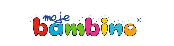 Logotym strony www.mojebambino.pl