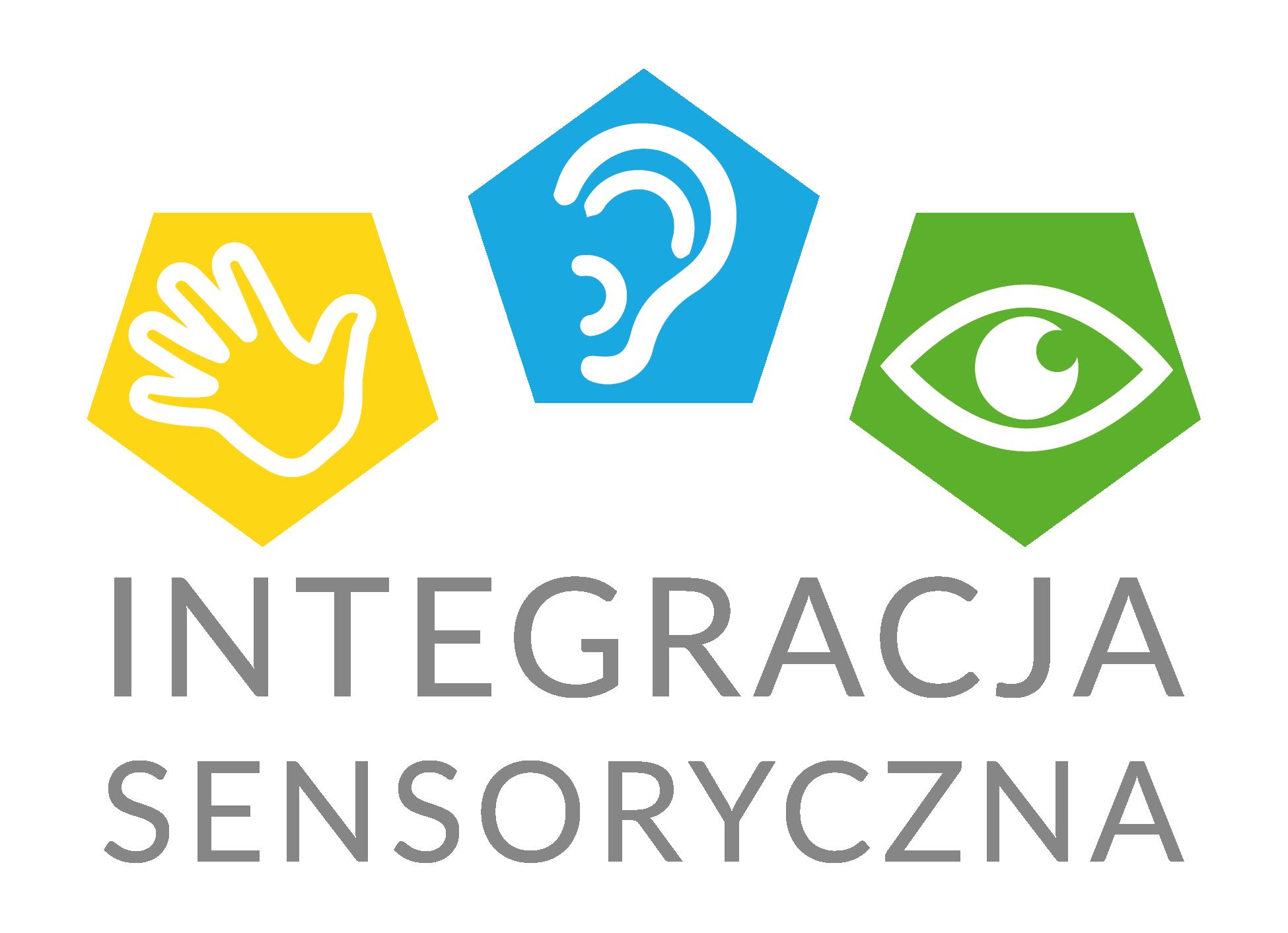 Logo strony internetowej na temat integracji sensorycznej