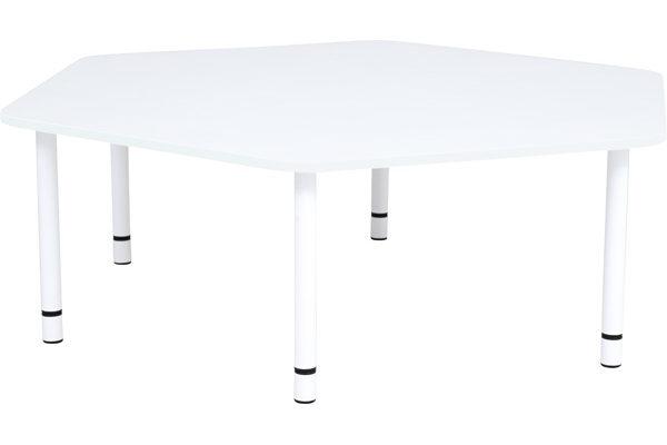 Stół quadro pięciokątny