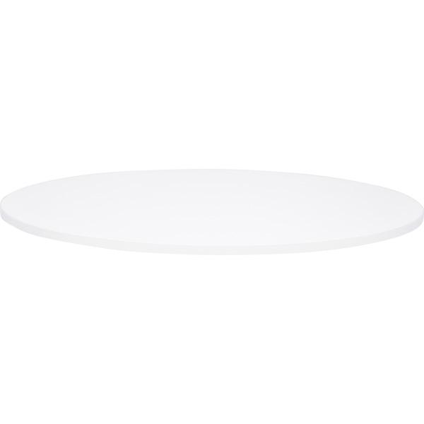Biały blat do okrągłych stołów Quadro